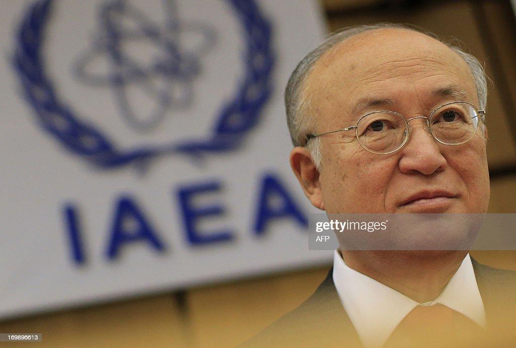 AUSTRIA-IRAN-NUCLEAR-POLITICS-DIPLOMACY-IAEA : News Photo