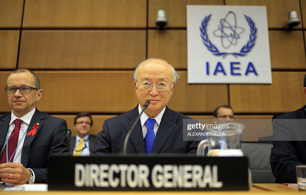 AUSTRIA-IRAN-NUCLEAR-POLITICS-UN-IAEA : News Photo