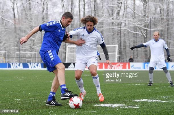 International beim Home of FIFA Legends Game 2017 FIFA stellvertretender Generalsekretaer Zvonimir Boban gegen Carles Puyol