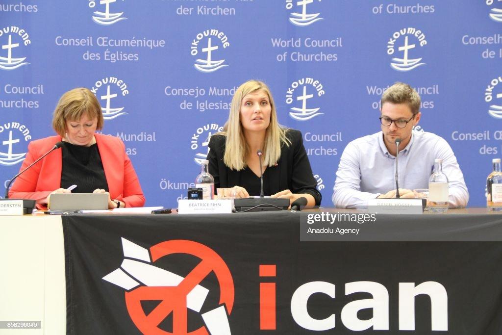 ICAN Executive Director Beatrice Fihn  : News Photo