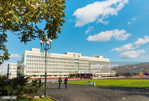 international center of business cooperation - syolacan stock pictures, royalty-free photos & images