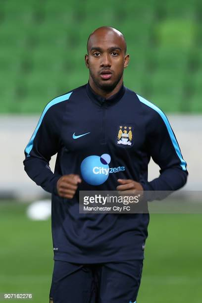 International Champions Cup Manchester City v Real Madrid Manchester City Training Melbourne Manchester City's Fabian Delph during training