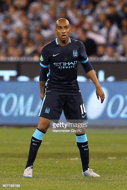 International Champions Cup Manchester City v Real Madrid Melbourne Cricket Ground Manchester City's Fabian Delph