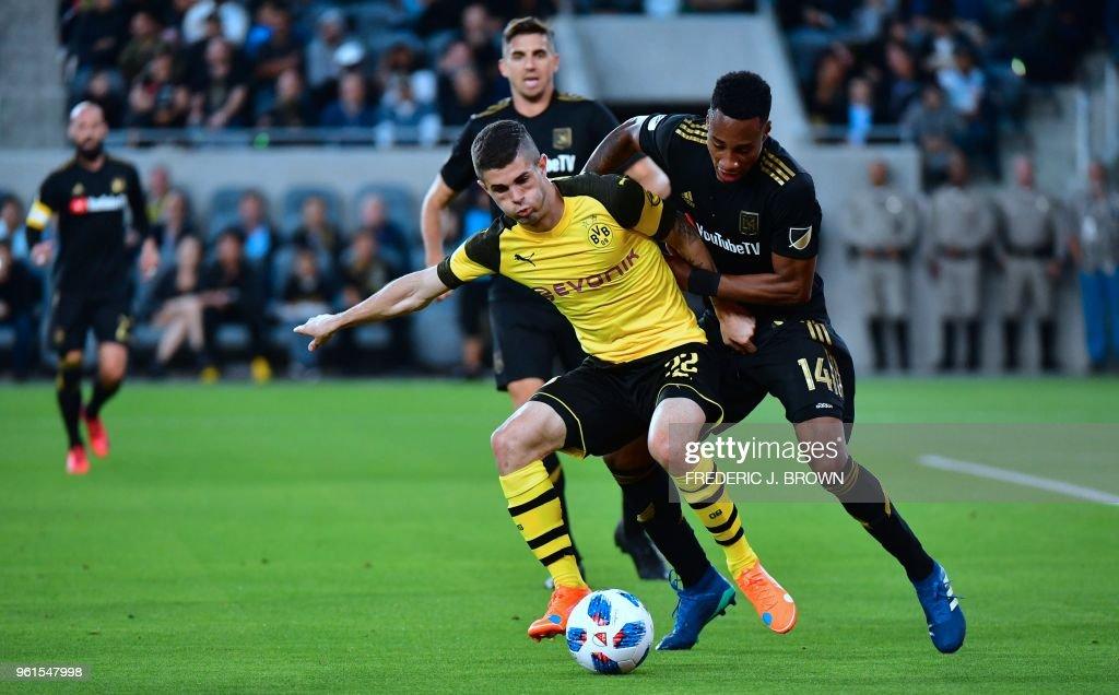 FBL-US-BORUSSIA-LAFC : News Photo