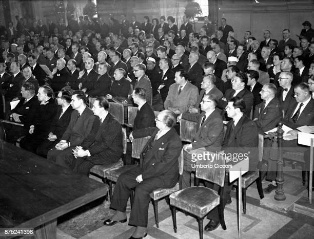 International Congress of the Construction Industry at 'Palazzo Venezia' Rome 1949