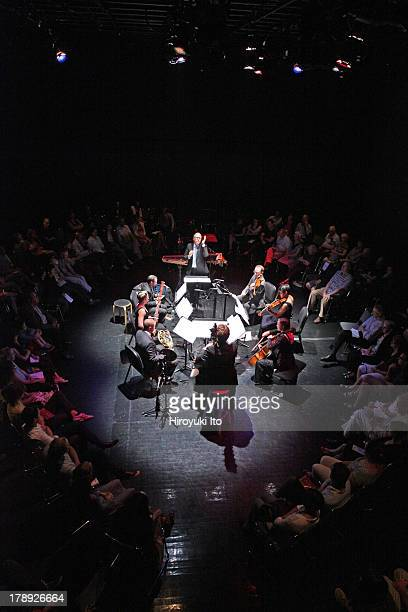 International Contemporary Ensemble performs the music of Beethoven and George Lewis at the Clark Studio Theater as part of Mostly Mozart Festival on...