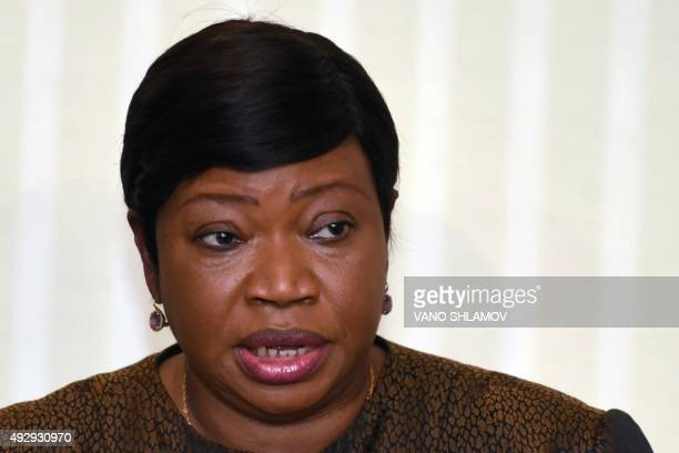 International Criminal Court prosecutor Fatou Bensouda who has proposed opening a probe into alleged war crimes committed during the 2008...