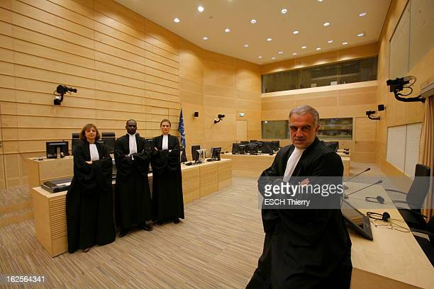 Prosecutor Luis Moreno Ocampo La Haye 18 janvier 2008 Le magistrat argentin Luis MORENOOCAMPO dirige la Cour pénale internationale depuis juillet...
