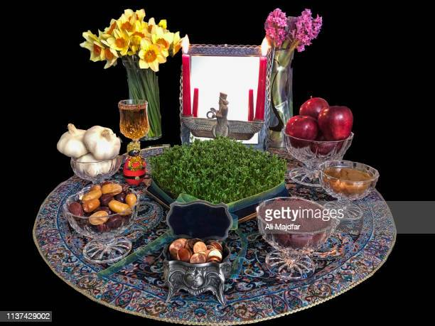 international day of nowruz - nowruz stock-fotos und bilder