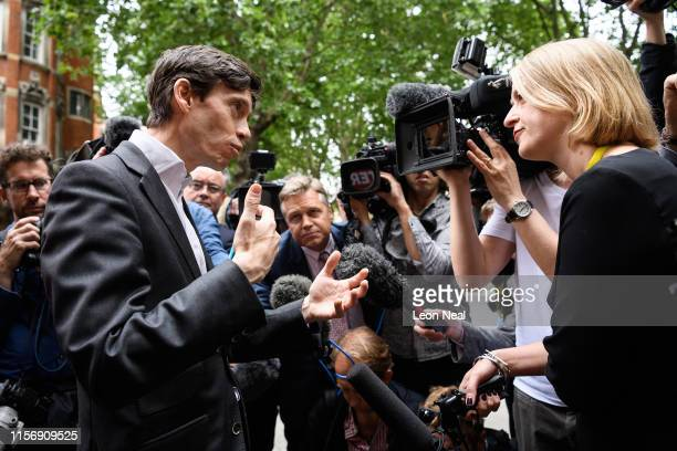 International Development Secretary and Conservative Party leadership candidate Rory Stewart is interviewed by BBC News' Political Editor Laura...