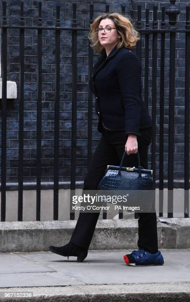 International Development Secretary Penny Mordaunt arrives in Downing Street