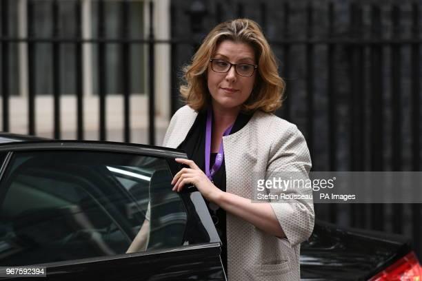 International Development Secretary Penny Mordaunt arrives in Downing Street London for a cabinet meeting