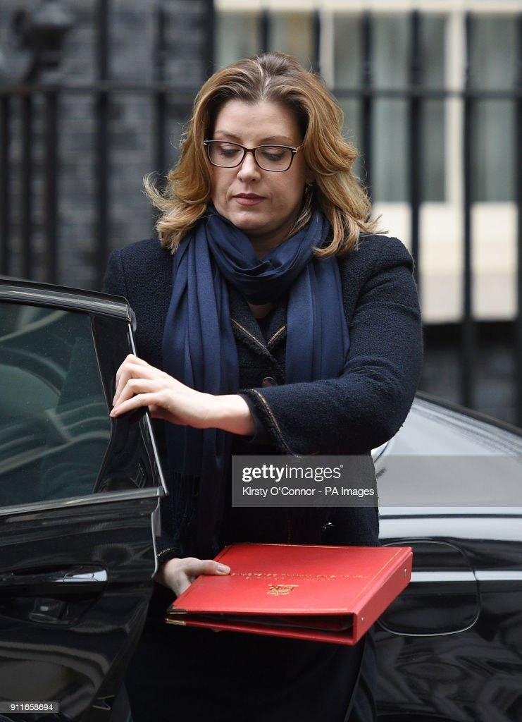 International Development Secretary Penny Mordaunt Arriving In Downing  Street, London, For A Political Cabinet