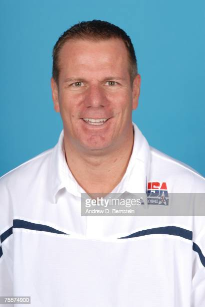 International Director of Scouting Tony Ronzone of the USA Men's Senior National Basketball Team poses for a portrait at Cox Pavilion July 20 2007 in...