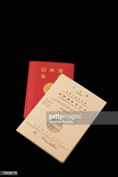 International driving licence and Japanese passport