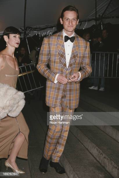 International Editor at Large for Vogue magazine Hamish Bowles at The Costume Institute Gala being held at the Metropolitan Museum of Art, New York...