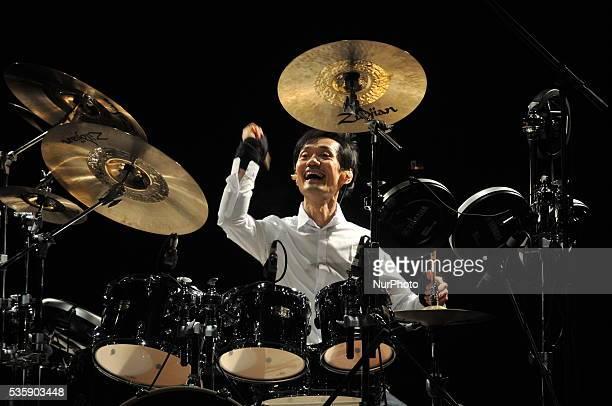 International Femurs Drum Master Akira Jimbo perform in Kolkata on 29 May 2016 The First Time India Visit Akira Jimbo also seen as Akira Jinbo is a...