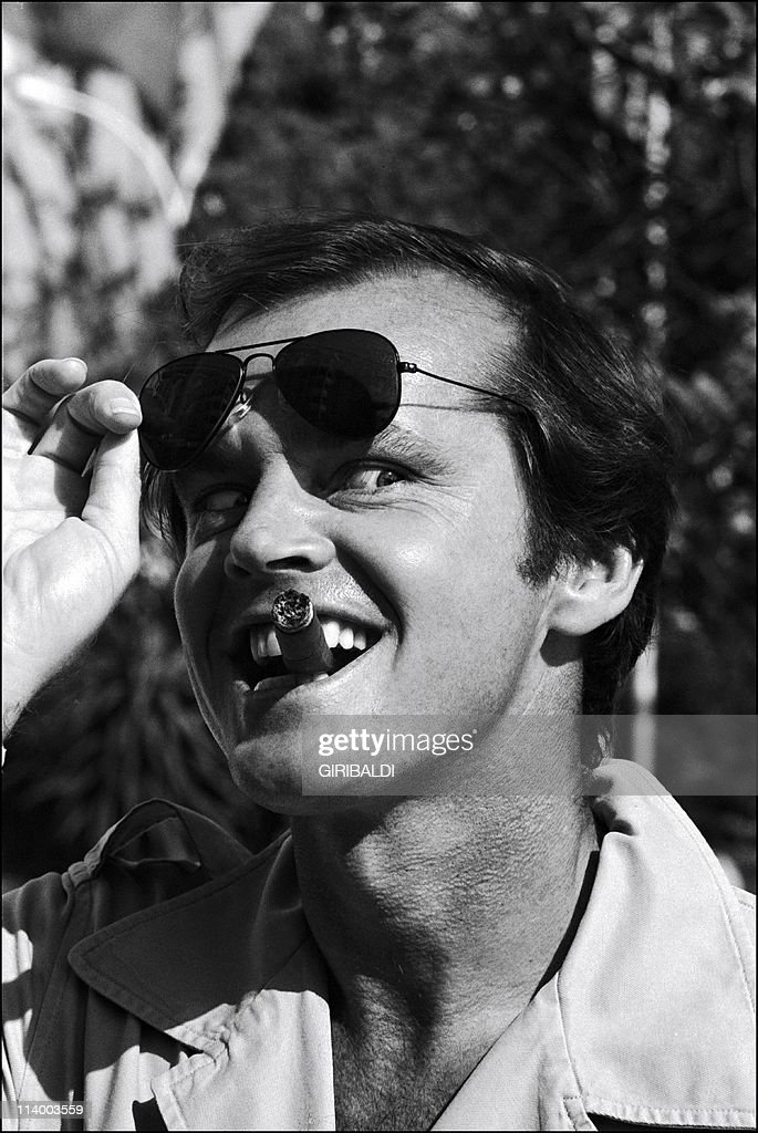 International Film Festival In Cannes, France On May 25, 1974-Jack Nicholson.