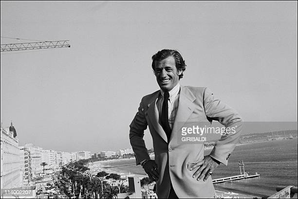 International Film Festival In Cannes France On May 25 1974JeanPaul Belmondo