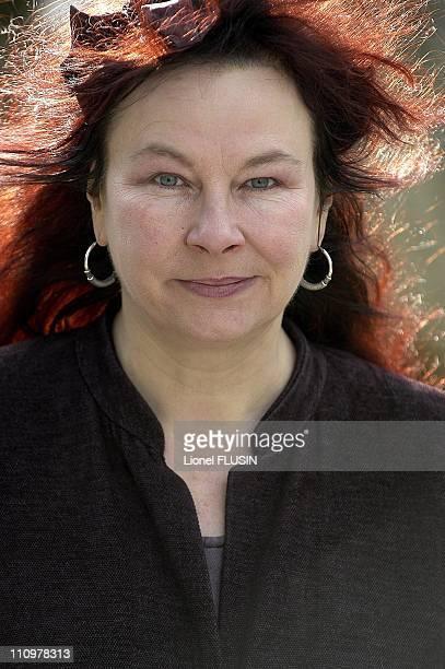 International Film Festival 'Tout Ecran' in Geneva Switzerland on November 06 2004 Close up of Belgium actress and director Yolande Moreau