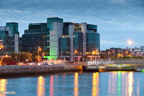 International Financial Services Centre and Liffey River.