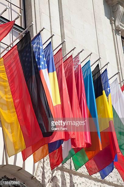 International flag set.