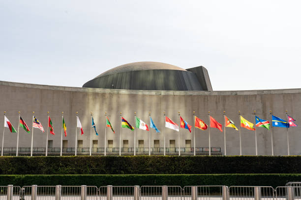 NY: UN Headquarters As 75th Meeting Of General Assembly Begins