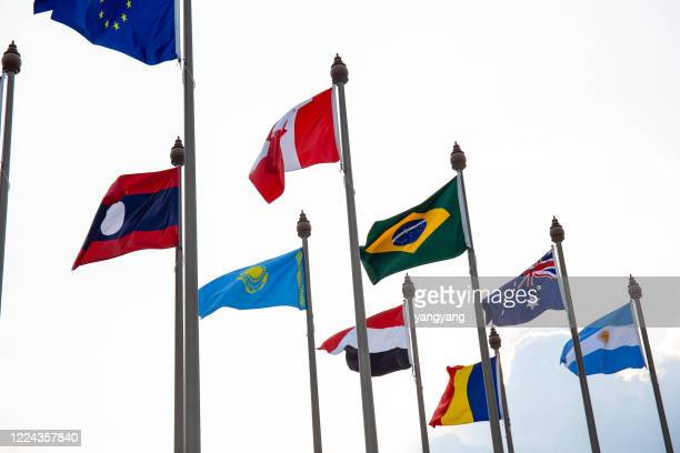 international flags - australian flag stock pictures, royalty-free photos & images