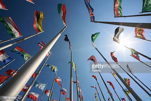 international flags - national flag stock photos and pictures
