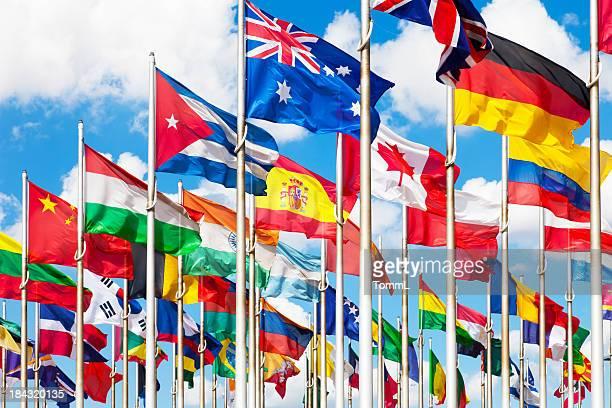 international banderas - bandera colombiana fotografías e imágenes de stock