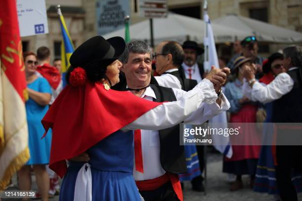 international folk dance festival in prague in 2019 - czech republic stock pictures, royalty-free photos & images