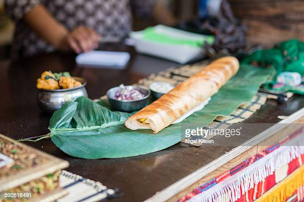 international food - dosa stock photos and pictures