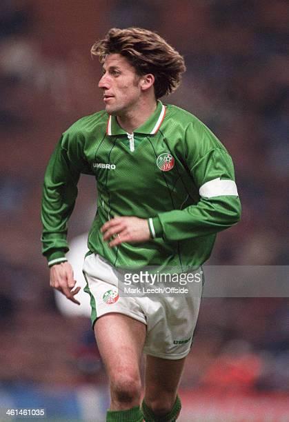International Football - England v Republic of Ireland, Andy Townsend.