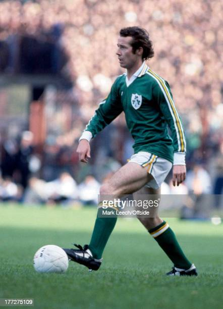 International Football Republic of Ireland v England Liam Brady