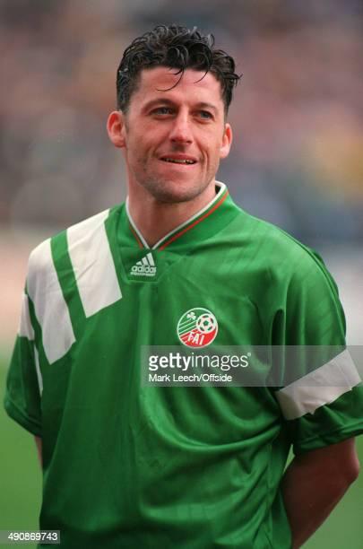 International Football, Republic of Ireland v Northern Ireland, Andy Townsend.