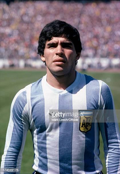 International Football Scotland v Argentina Portrait Diego Maradona