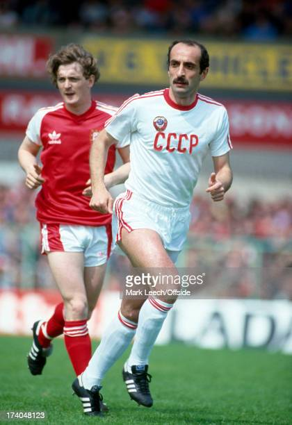 International Football Wales v Russia David Kipiani