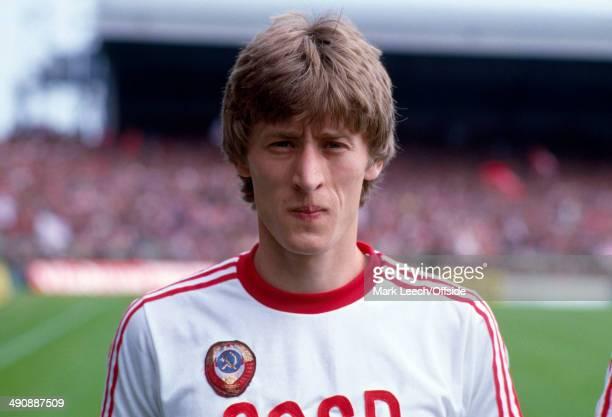 International Football Wales v Russia Sergei Baltacha