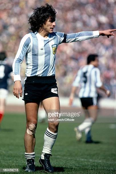 International FootballScotland v ArgentinaDaniel Pasarella