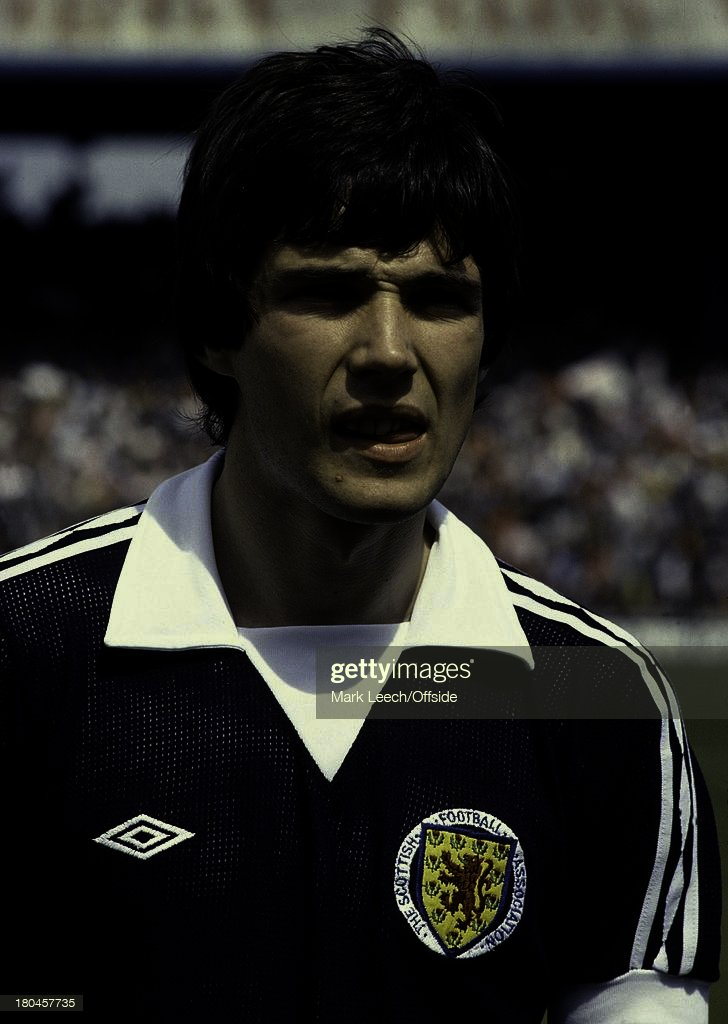 International Football.Scotland v Wales.Alan Hansen.