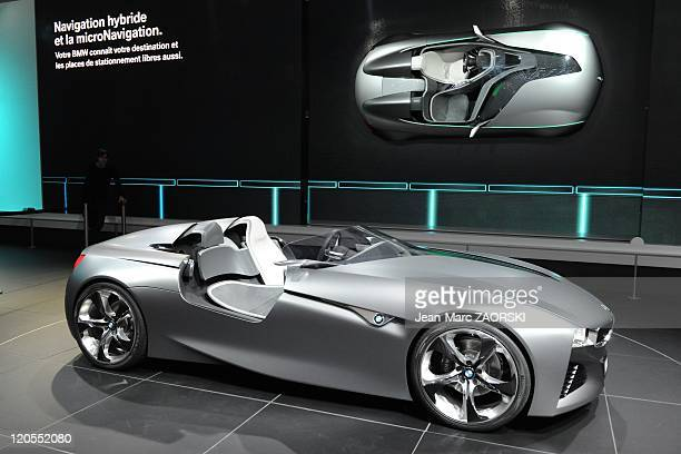 Bmw Vision Connected Drive Concept Stock Photos And Pictures Getty