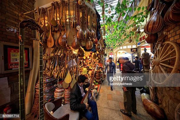 international grand bazaar in urumqi,xinjiang,  china - xinjiang province stock pictures, royalty-free photos & images