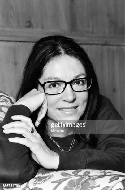 International Greek singer Nana Mouskouri 25th January 1979