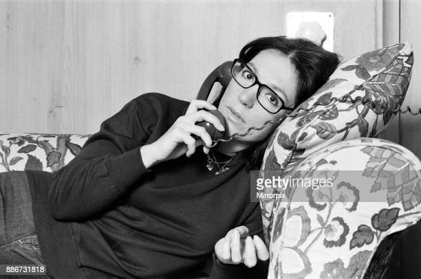 International Greek singer Nana Mouskouri 25th January 1979