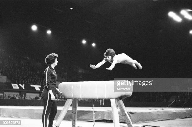 International Gymnastics at Wembley Arena, London, Saturday 2nd April 1966 Britain in competition with Hungry, Yugoslavia and Czechoslovakia. Our...