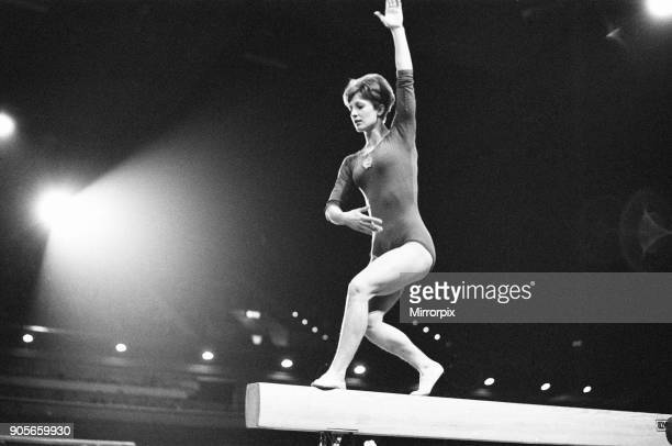 International Gymnastics at Wembley Arena London Saturday 2nd April 1966 Britain in competition with Hungry Yugoslavia and Czechoslovakia Our picture...
