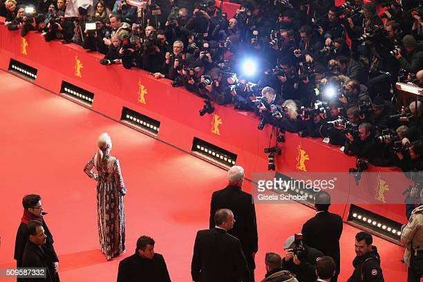 International jury president Meryl Streep attends the 'Hail Caesar' premiere during the 66th Berlinale International Film Festival Berlin at...