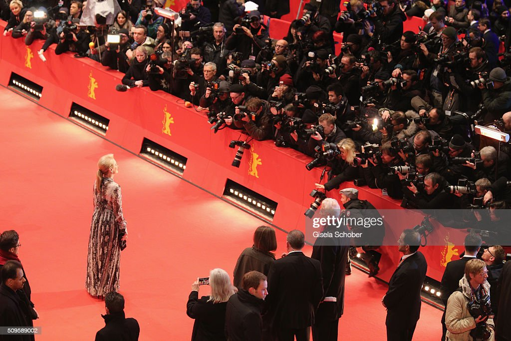 International jury president Meryl Streep attends the 'Hail, Caesar!' premiere during the 66th Berlinale International Film Festival Berlin at Berlinale Palace on February 11, 2016 in Berlin, Germany.
