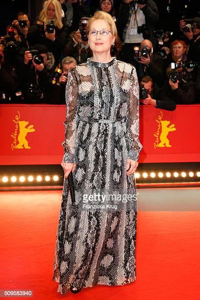 International jury president Meryl Streep wearing Prada attends the 'Hail Caesar' premiere during the 66th Berlinale International Film Festival...