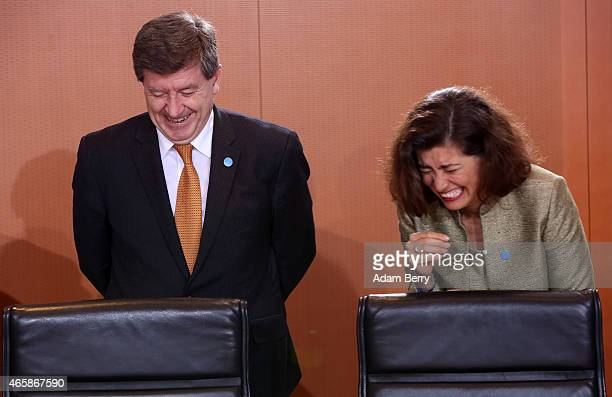 International Labour Organization DirectorGeneral Guy Ryder and Organisation for Economic Cooperation and Development Chief of Staff Gabriela Ramos...